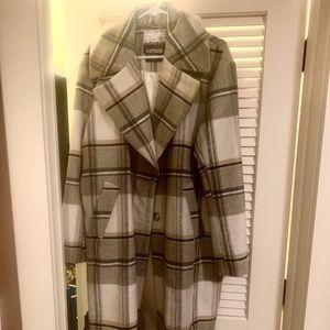 ed1700948e6 Kensie Jackets   Coats - Kensie Plaid Long Wool Coat XL New